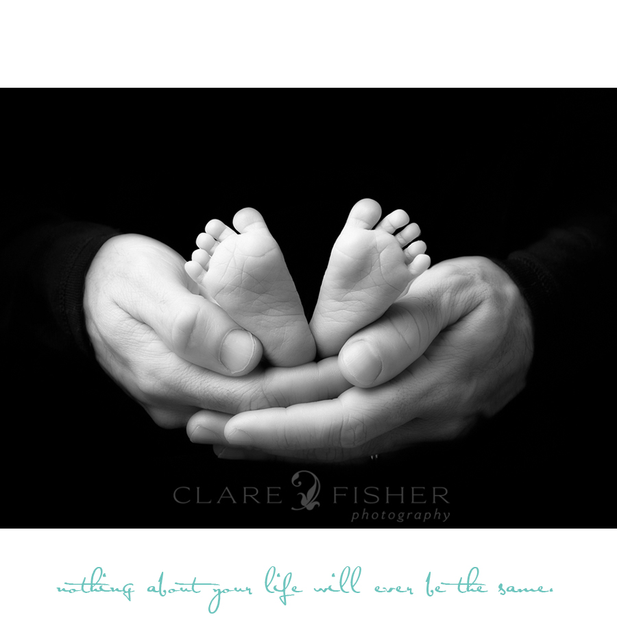 Black and white newborn photography New York City