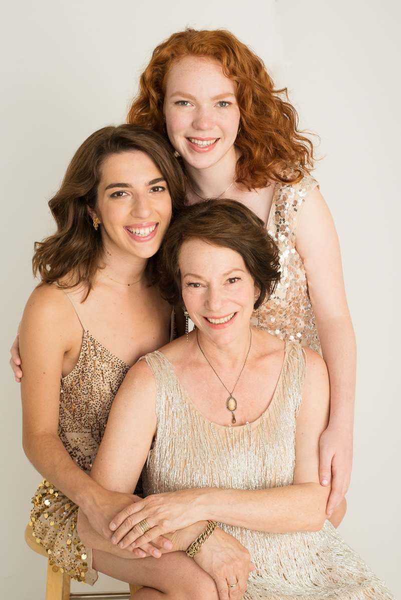 Mother and daughters portrait-0468